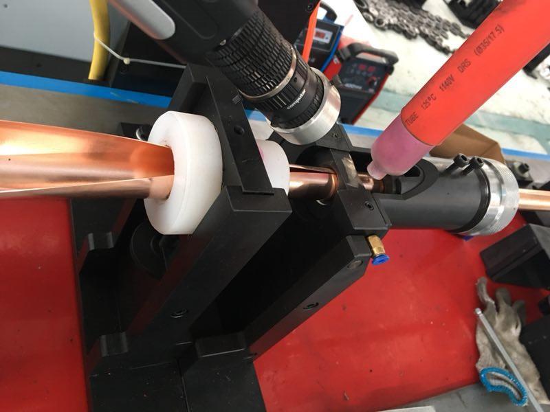 矿物绝缘防火电缆氩弧焊生产线