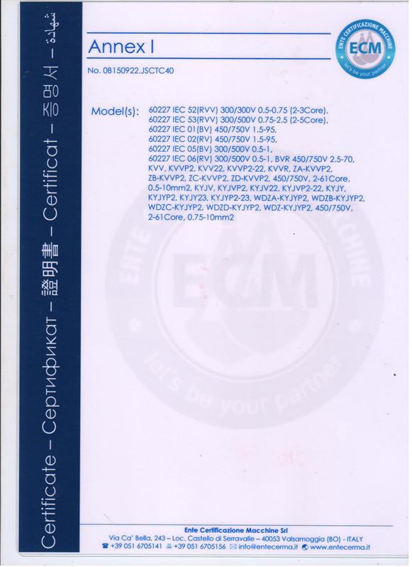 欧盟CE认证2